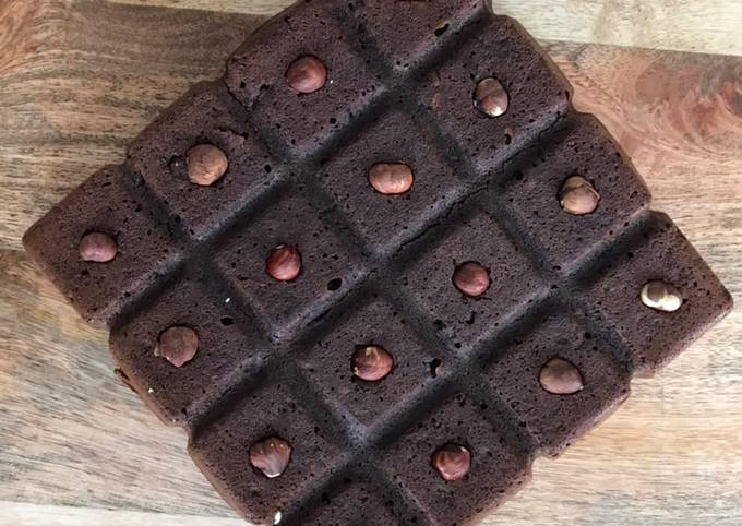 Brownie sans oeuf et sans beurre