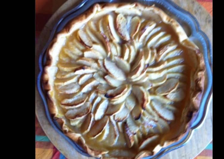 Comment Préparer Les Tarte aux pommes miel et citron