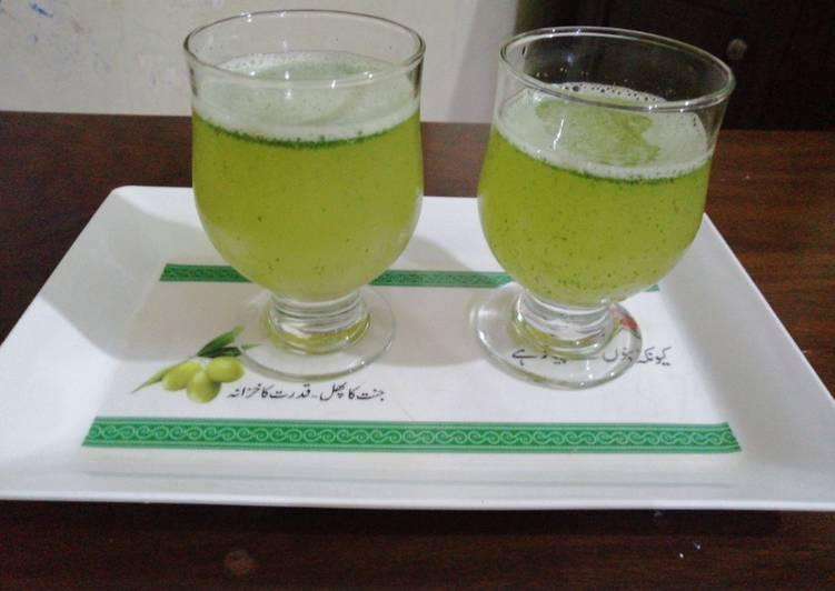 Steps to Prepare Speedy Mint Soda