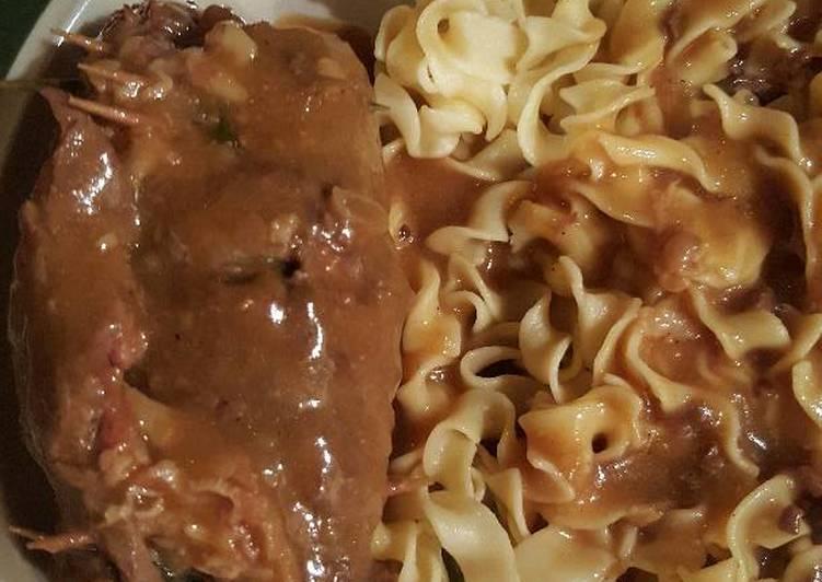 Omi's Beef Rouladen!