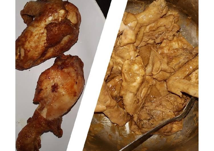 Ayam goreng Belacan bumbu royco