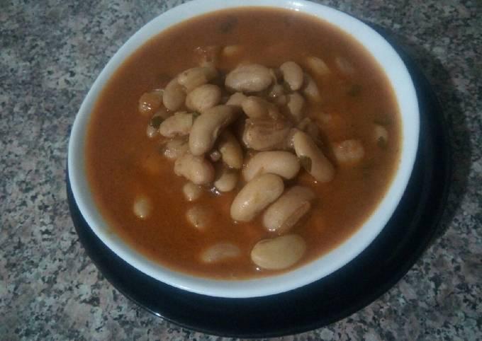 Soupe d' haricot grini