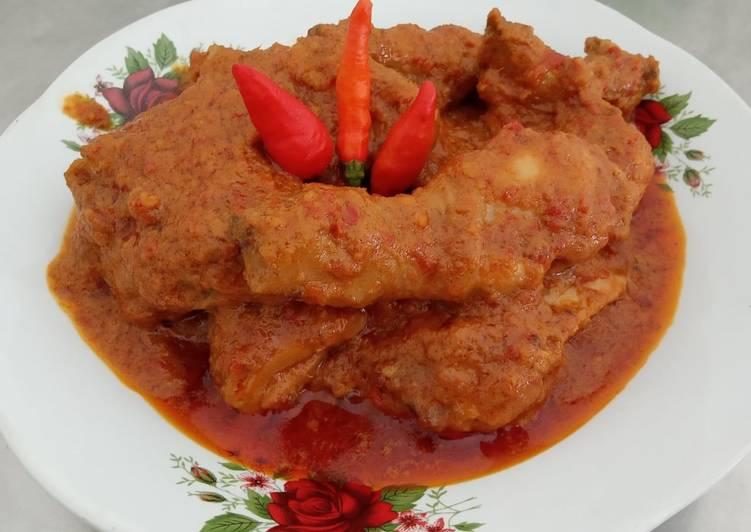 Resep Gulai Ayam Merah, Lezat