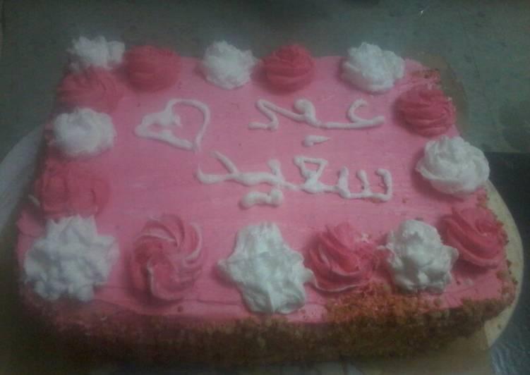 كيكة عيد ميلاد اخي بالصور من فاطمة الزهراء كوكباد