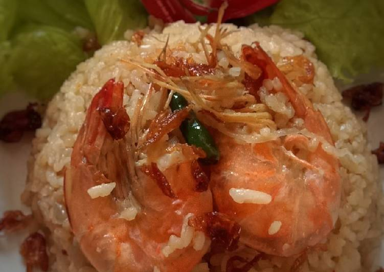 Nasi Goreng Udang - magic com