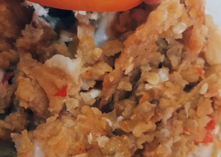 Resep Ayam geprek super simpel, Menggugah Selera