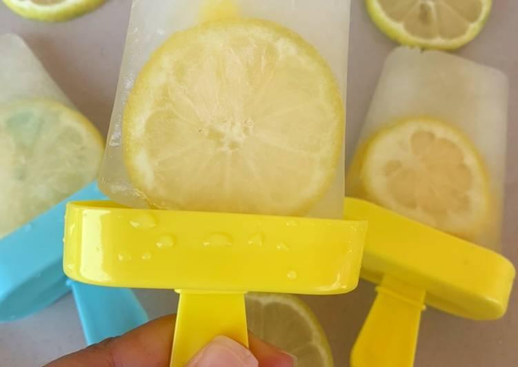 Glace au pulco citron / menthe