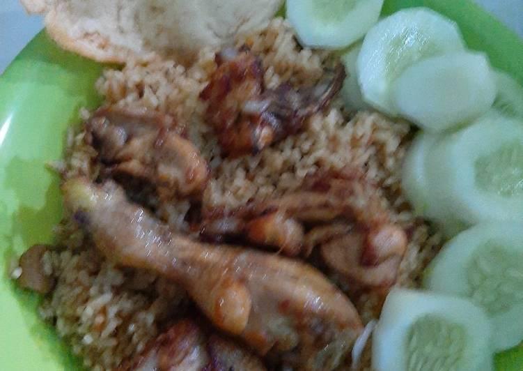 Resep Nasi kebuli ayam anti gagal
