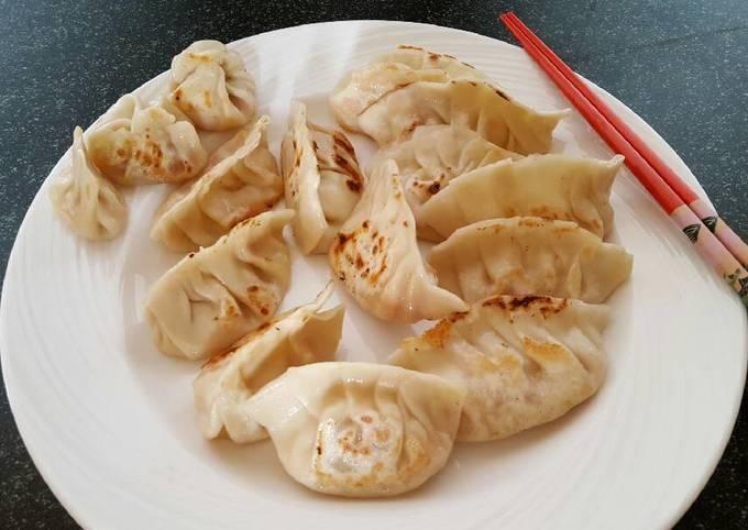 Gyoza / Dumplings Veg and Dumplings' wrappers