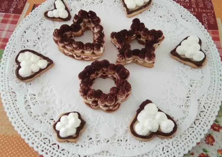 Ricetta Cream tart mignon e biscottini di frolla