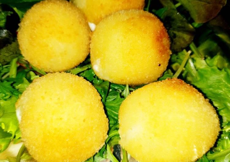 Comment faire Préparer Parfait 🥔 Croquettes de pommes de terre fourrées à la vache kiri 🥔