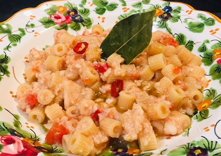 Tubetti con la cioffa (cavolfiore) ricetta tipica teramana