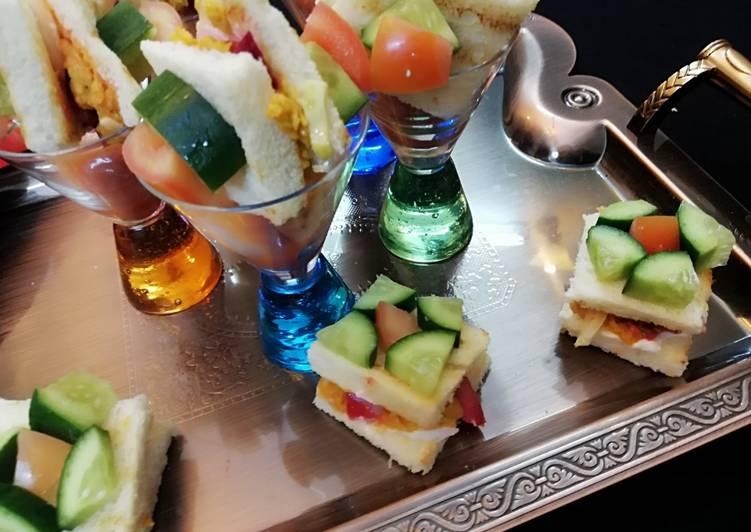 Recipe: Comfortable SHAWRMA SANDWITCH BITES #ramdankitayari #fastfoodcontest