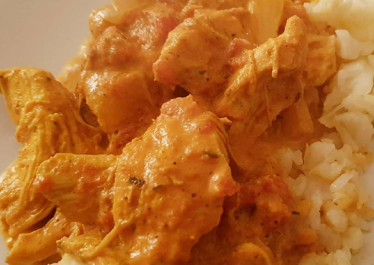Low Carb Instant Pot Chicken Curry