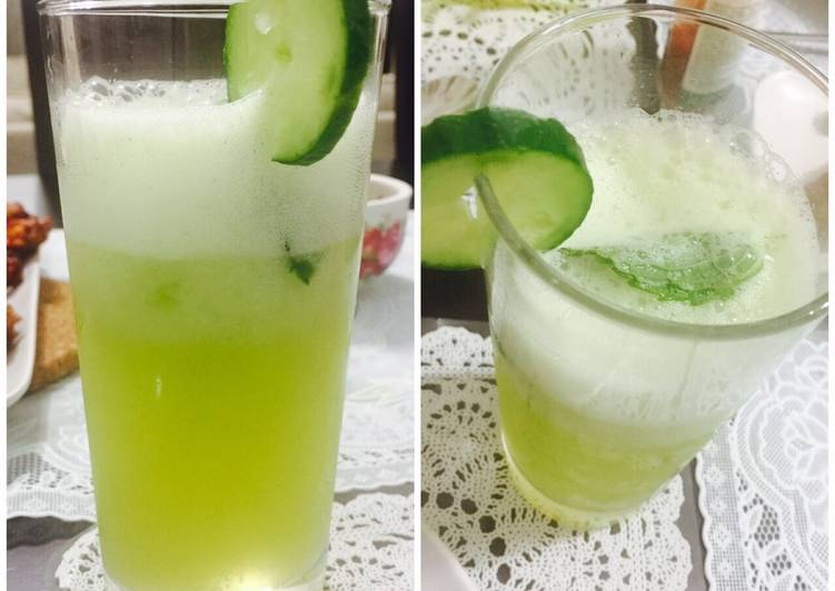 Recipe of Quick Cucumber Cooler