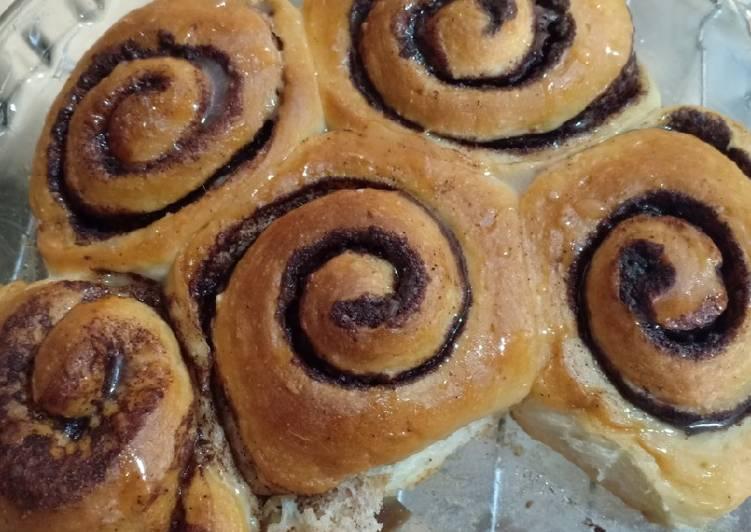 63. Sourdough Cinnamon Roll