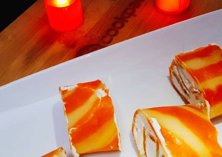 Going Green for Greater Health By Eating Superfoods Orange Marble Swiss Roll