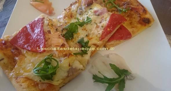 Pizza Crujiente Mar Y Montaña
