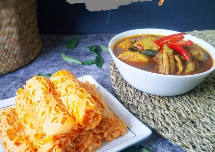 Roti Jala bersama Kari Ayam #phopbylinimohd #batch17 - velavinkabakery.com