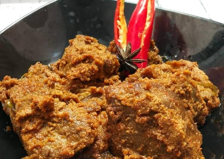 Rendang Daging ala Icha Irawan (Sooo Simple 👌)