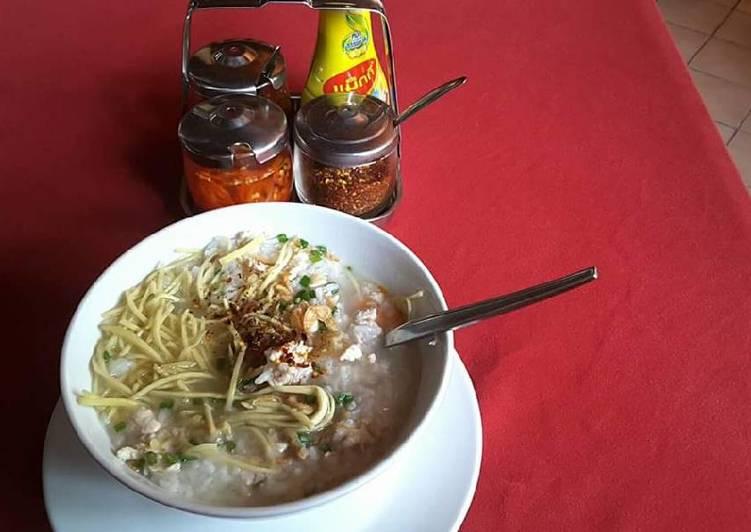 Rice soup (soupe de riz)