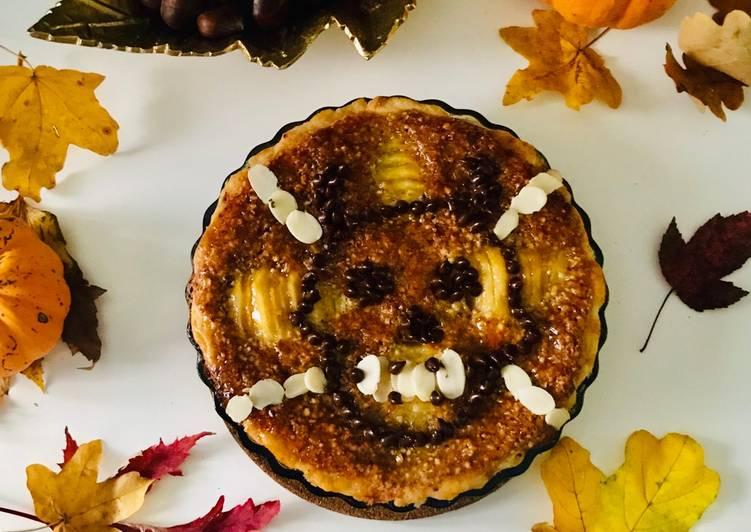Simple Way to Make Speedy Tarte Bourdaloue Halloweenesque 🤪