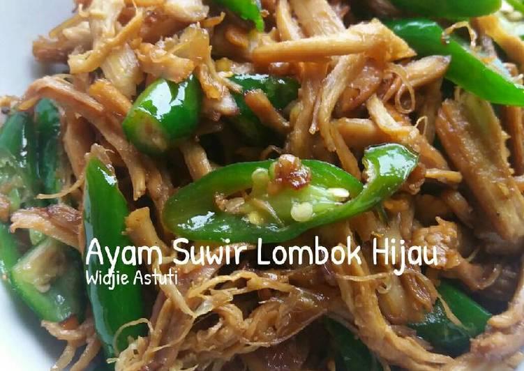 Ayam Suwir Lombok Hijau (#Pr _AdaKecapManisnya)