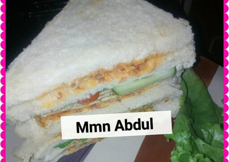 Old Fashioned Dinner Easy Royal Bread sandwich