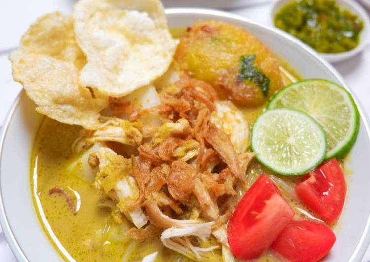 Soto Medan (Best Soto I Ever made)