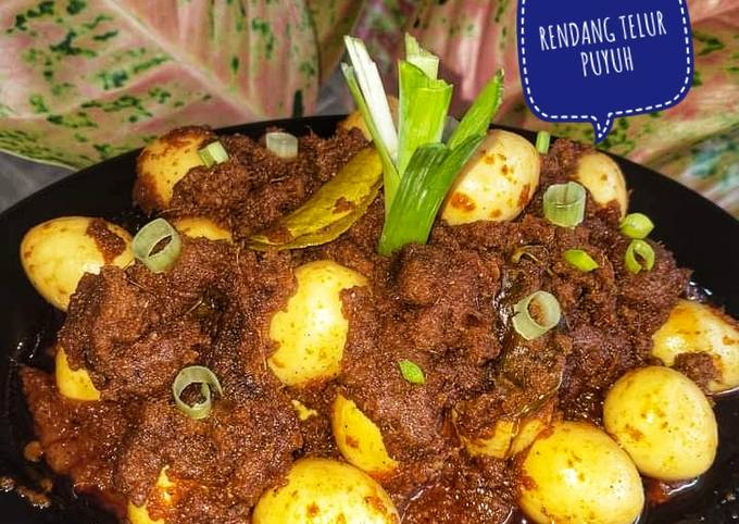 RENDANG TELUR PUYUH By Henny's