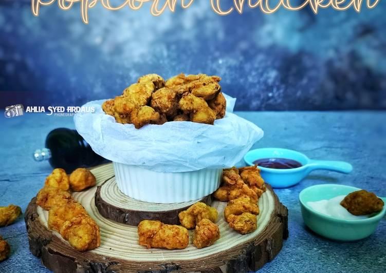 Crispy Popcorn Chicken - velavinkabakery.com