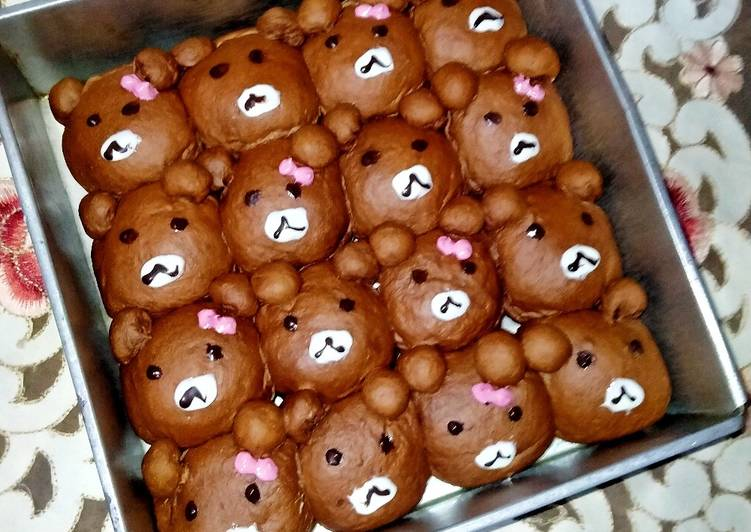 Character Bread Moka Coklat
