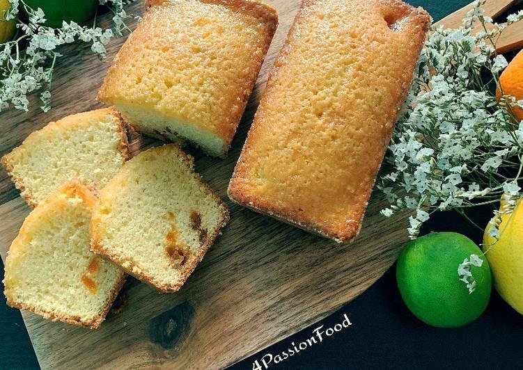 Cake aux agrumes de Claire Heitzler @4PassionFood #paques