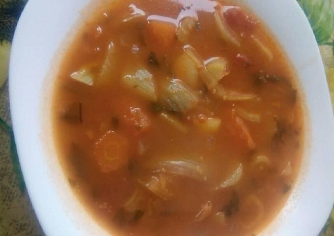 Soupe de fenouil / carotte