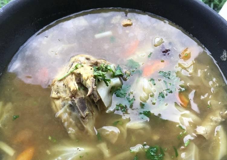 Sop ayam simpe by Mama Dede