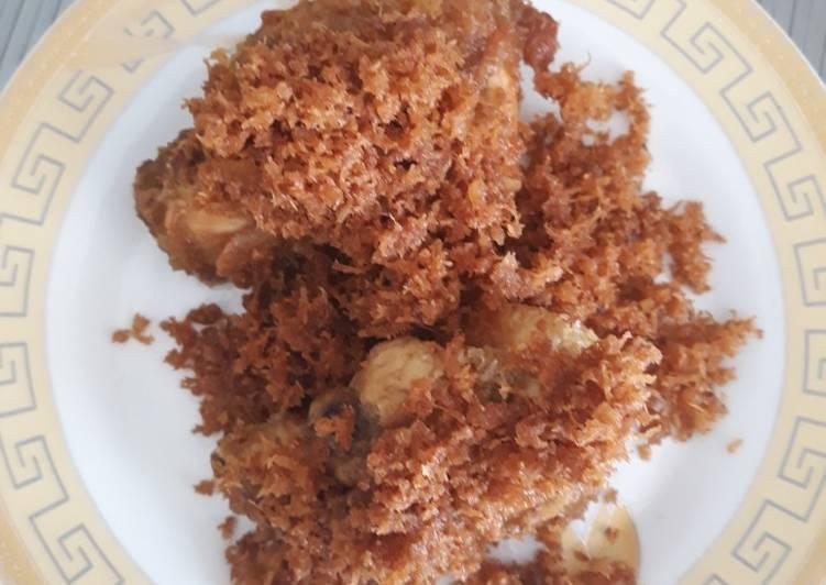 Ayam goreng srundeng kelapa - cookandrecipe.com