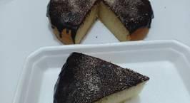 Hình ảnh món Bánh phủ socola dừa- cốt bánh không trứng- eggless cake