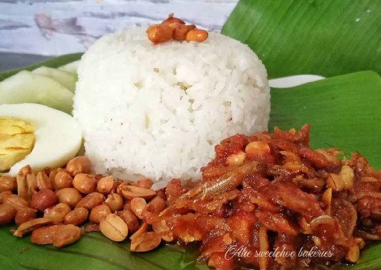 Nasi lemak - resepipouler.com