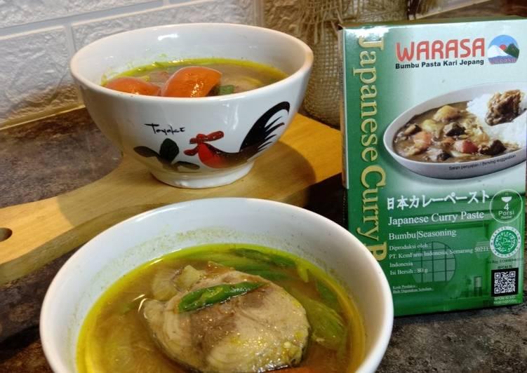 Sup Ikan Tongkol Bumbu Warasa Japanese Curry