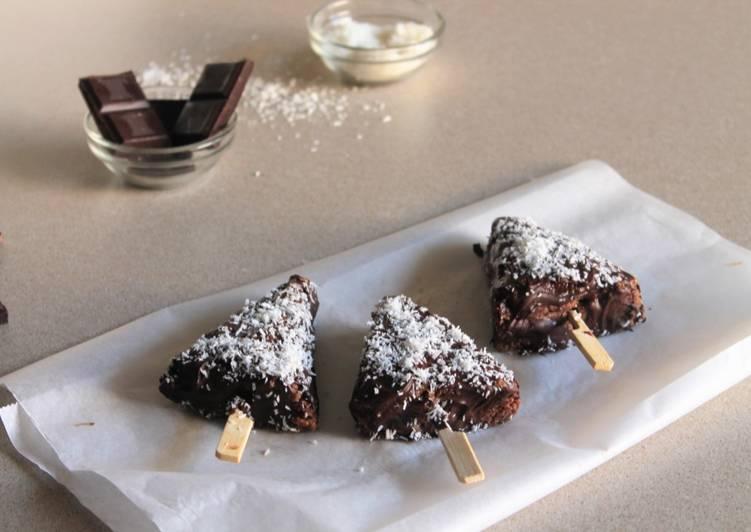 Ricetta Golosi snack al cioccolato