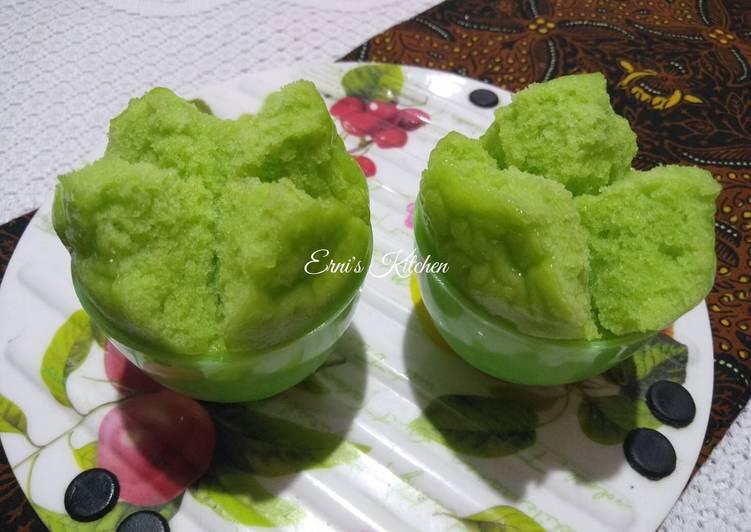 Kue Mangkok (Tanpa Tape)