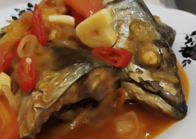 Ikan Makarel Masak Sarden
