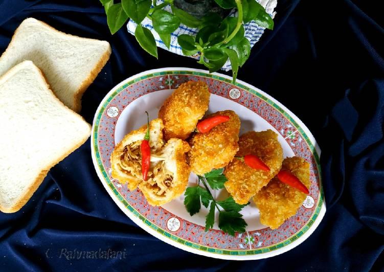 Ayam Pouch Roti Tawar