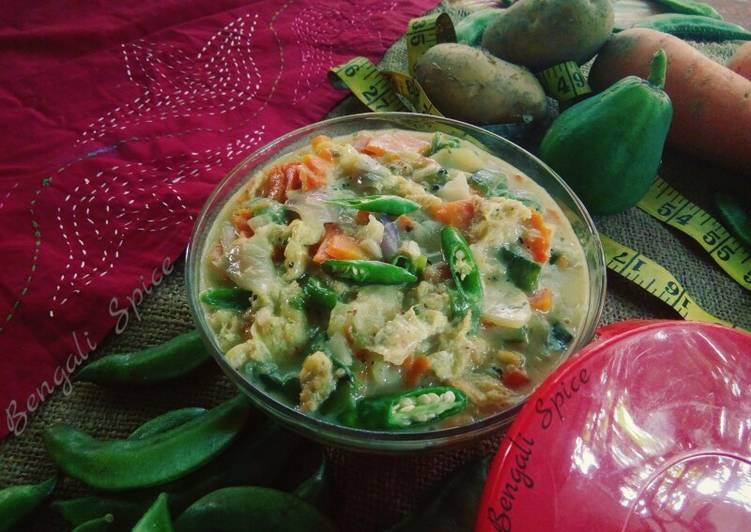 How to Make Speedy Vegetable kurma/ curry🍲