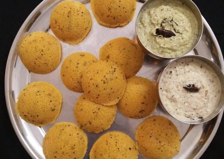 Simple Way to Prepare Quick Vegetable idli
