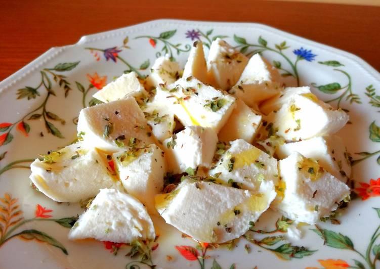 Mozzarella aliñada