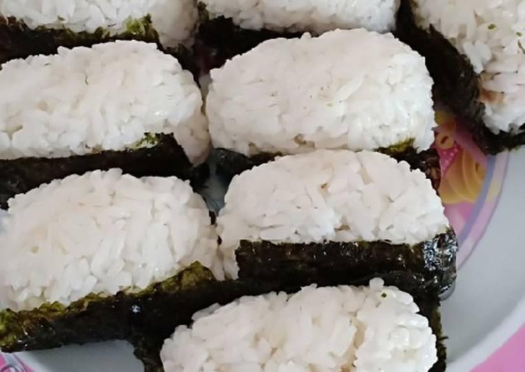 Tutorial Menyiapkan Onigiri Tuna Mayonnaise Anti Gagal Resep Masakan Khas Indonesia