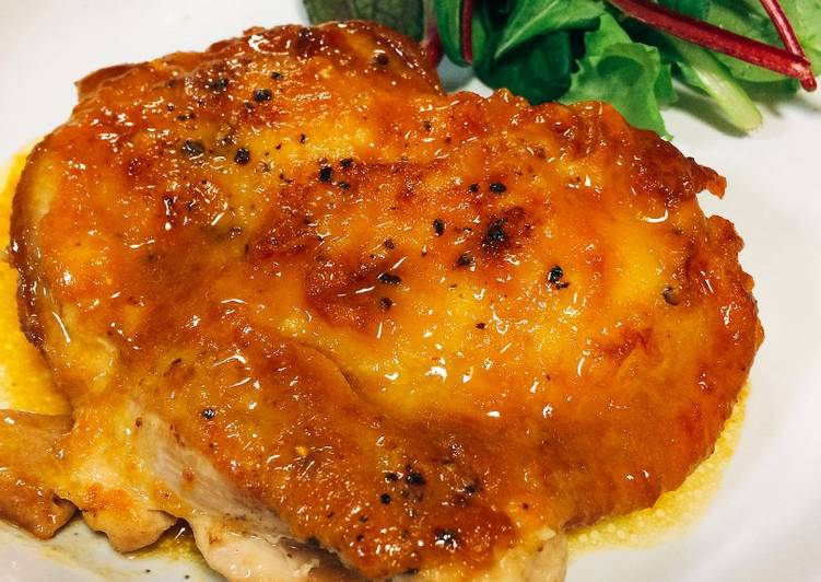 How to Prepare Perfect Chicken Saute with Butter and Soy Sauce