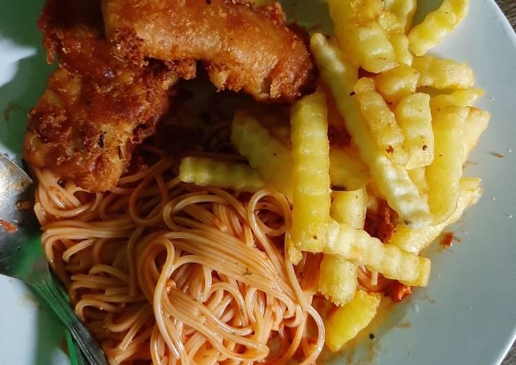 Fish n Pasta Chips