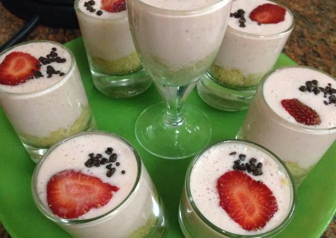 Recipe: Perfect Strawberry Cheesecakes